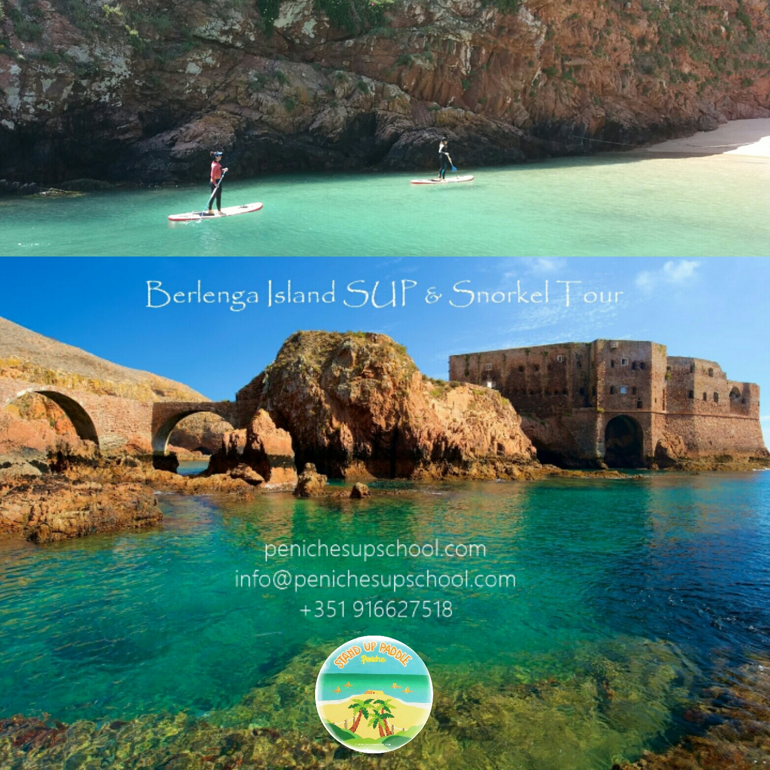 Peniche SUP school | Stand Up Paddle, Surf & More
